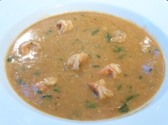 Indian prawn soup
